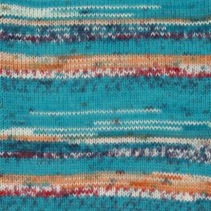 Image of   Drops Fabel Garn Print 162 Blue Sea