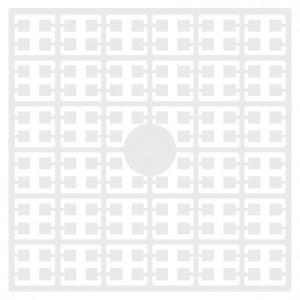 Pixelhobby Midi Perler 100 Hvid 2x2mm - 144 pixels