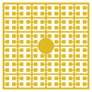 Pixelhobby Midi Perler 392 Gul 2x2mm - 144 pixels