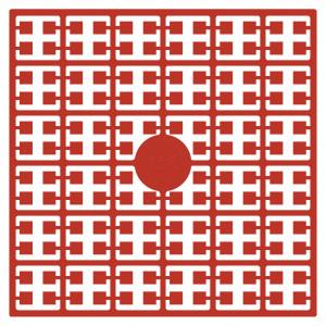 Image of   Pixelhobby Midi Perler 156 Koralrød 2x2mm - 144 pixels