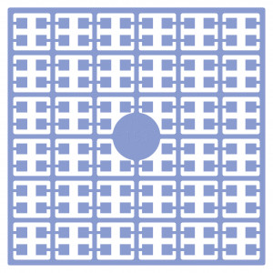 Image of   Pixelhobby Midi Perler 153 Lyseblå 2x2mm - 144 pixels