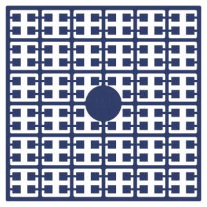 Image of   Pixelhobby Midi Perler 151 Marineblå 2x2mm - 144 pixels