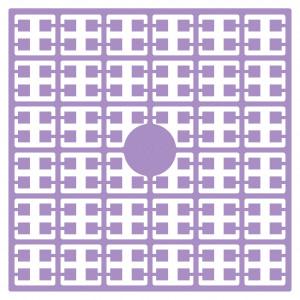 Pixelhobby Midi Perler 124 Lys lavendel 2x2mm - 144 pixels