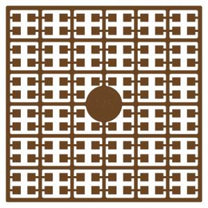 Image of   Pixelhobby Midi Perler 176 Brun 2x2mm - 144 pixels
