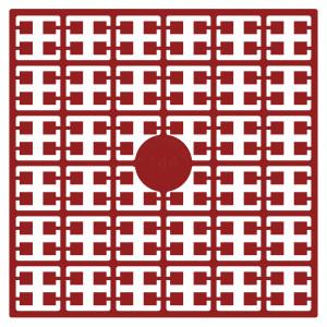 Image of   Pixelhobby Midi Perler 144 Julerød 2x2mm - 144 pixels