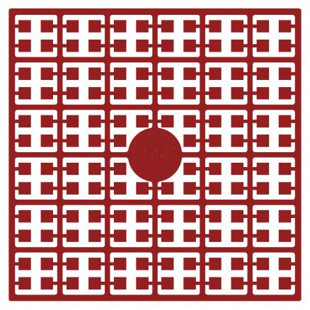 Pixelhobby Midi Perler 144 Julerød 2x2mm - 144 pixels thumbnail