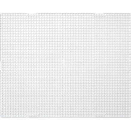 Pixelhobby Midi/XL Perleplade Firkant Transparent 10x12,5cm - 1 stk thumbnail
