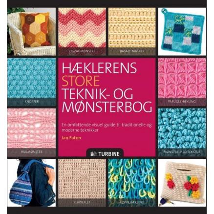 Image of   Hæklerens store teknik- og mønsterbog - Bog af Jan Eaton