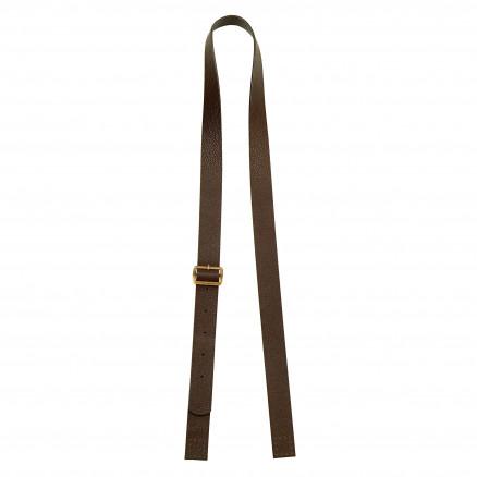 Prym Taskehank Lilly Imiteret Læder Mørkebrun 105-127cm