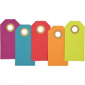 Manillamærker 3x6 cm Ass. farver