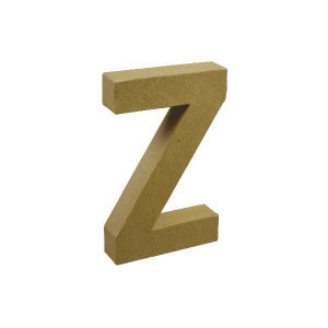 Image of   Papbogstav Z 20x11,5cm - 1 stk