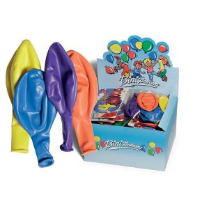 Bini Balloons Balloner Gigant Ass. farver 130cm - 4 stk