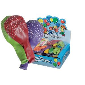 Bini Balloons Balloner Stjerner Ass. farver 90cm - 6 stk