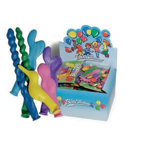 Bini Balloons Balloner Ass. figurer og farver - 40 stk