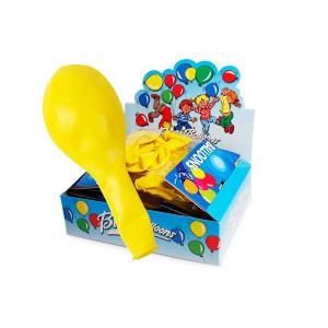 Bini Balloons Balloner Gul 80cm - 8 stk