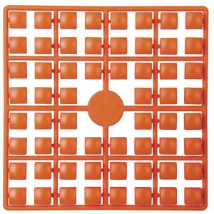 Pixelhobby XL Perler 224 Lys orange rød 5x5mm - 64 pixels