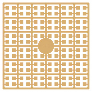 Pixelhobby Midi Perler 543 Ekstra Lys Mahogni 2x2mm - 144 pixels