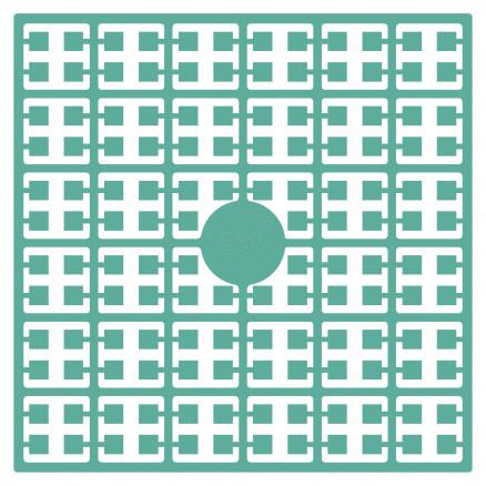 Pixelhobby Midi Perler 538 Lys klar Grøn 2x2mm - 144 pixels thumbnail