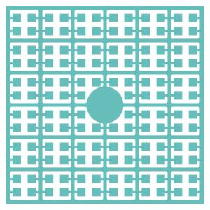 Pixelhobby Midi Perler 536 Lys Petrol 2x2mm - 144 pixels