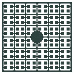 Pixelhobby Midi Perler 534 Mørk Petrol 2x2mm - 144 pixels