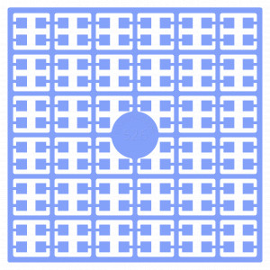 Pixelhobby Midi Perler 526 Lavendelblå 2x2mm - 144 pixels
