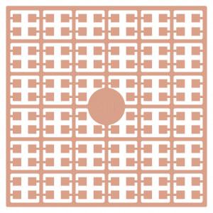 Pixelhobby Midi Perler 511 Lys Abrikos hudfarve 2x2mm - 144 pixels