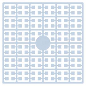 Pixelhobby Midi Perler 498 Meget lys Turkis 2x2mm - 144 pixels