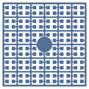 Pixelhobby Midi Perler 497 Turkis Blå 2x2mm - 144 pixels