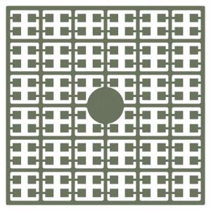Pixelhobby Midi Perler 485 Mørk Gråbrun 2x2mm - 144 pixels