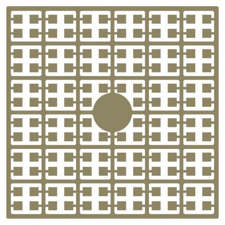 Pixelhobby Midi Perler 484 Lys Mokka 2x2mm - 144 pixels thumbnail
