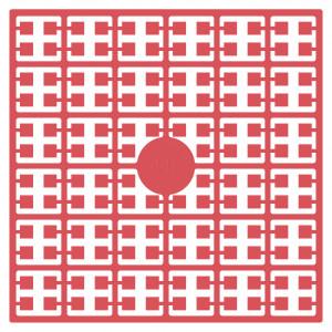 Pixelhobby Midi Perler 448 Meget mørk lyserød 2x2mm - 144 pixels
