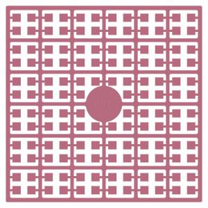 Pixelhobby Midi Perler 445 Støvet Lilla 2x2mm - 144 pixels