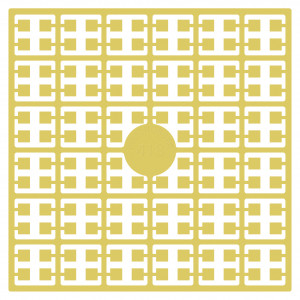 Pixelhobby Midi Perler 418 Sand Beige 2x2mm - 144 pixels