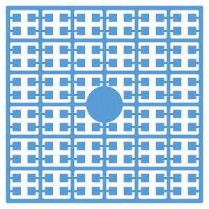 Pixelhobby Midi Perler 404 Lys Lys Blå 2x2mm - 144 pixels