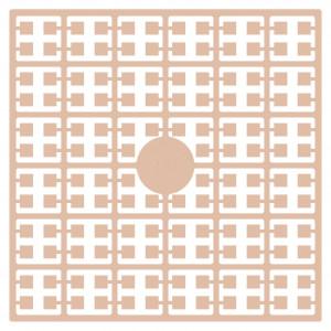Pixelhobby Midi Perler 388 Mørk Fersken hudfarve 2x2mm - 144 pixels