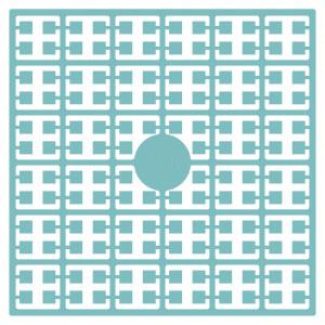 Pixelhobby Midi Perler 381 Mørk Søgrøn 2x2mm - 144 pixels
