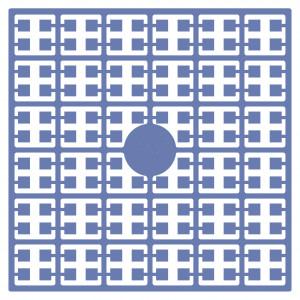 Pixelhobby Midi Perler 362 Støvet Blå 2x2mm - 144 pixels