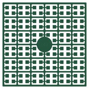 Pixelhobby Midi Perler 347 Lys Smaragdgrøn 2x2mm - 144 pixels