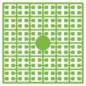 Pixelhobby Midi Perler 343 Lys Papegøje Grøn 2x2mm - 144 pixels