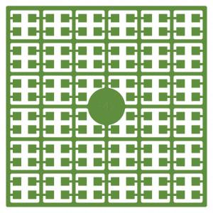 Pixelhobby Midi Perler 342 Papegøje Grøn 2x2mm - 144 pixels