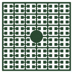 Pixelhobby Midi Perler 336 Ekstra mørk Jagtgrøn 2x2mm - 144 pixels