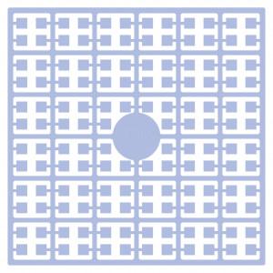 Pixelhobby Midi Perler 296 Ekstra lys Delft Blå 2x2mm - 144 pixels