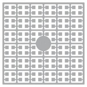 Pixelhobby Midi Perler 277 Lys Perlegrå 2x2mm - 144 pixels
