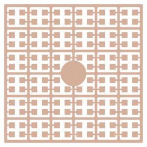 Pixelhobby Midi Perler 273 Lys Fersken hudfarve 2x2mm - 144 pixels