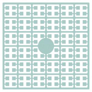 Pixelhobby Midi Perler 272 Meget lys Turkisblå 2x2mm - 144 pixels