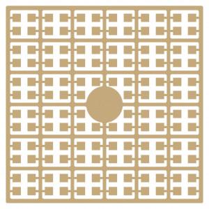 Pixelhobby Midi Perler 263 Ekstra lys hudfarve 2x2mm - 144 pixels