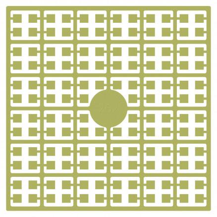 Pixelhobby Midi Perler 262 Lys Oliven Grøn 2x2mm - 144 pixels thumbnail