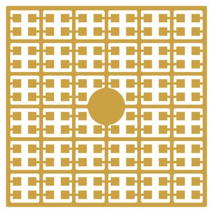 Pixelhobby Midi Perler 257 Lys Gammel Guldgul 2x2mm - 144 pixels thumbnail