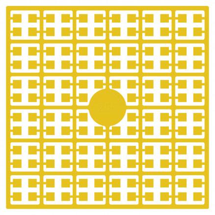 Pixelhobby Midi Perler 256 Gylden Gul 2x2mm - 144 pixels thumbnail
