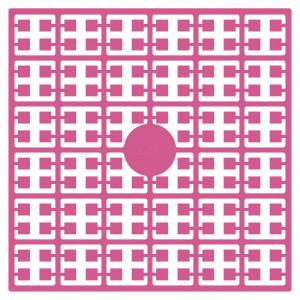 Pixelhobby Midi Perler 220 Cerise 2x2mm - 144 pixels